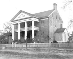 Early Tallahassee planter Benjamin Chaires built The Columns in the early 1830s.  On May 21, 1975, it was added to the National Register of Historic Places (ca.1890). | Florida Memory