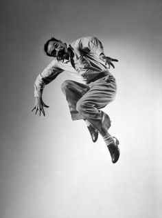 """""""I got started dancing because I knew it was one way to meet girls."""" —-Gene Kelly"""