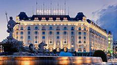 El Hotel Palace de Madrid fue el primero de toda Europa en tener baños en todas sus habitaciones.