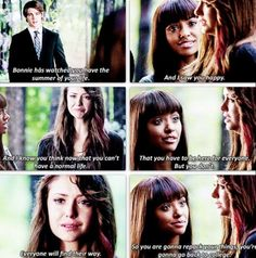 The summer of Elena's life. Once people die they finally realize the heart of Elena's relationship with Damon because they can see them behind closed doors.