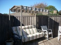 Your patio swings on pinterest patio swing canopies and cushions