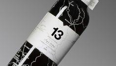 13 Appellations Wine design by WEI S., via Behance