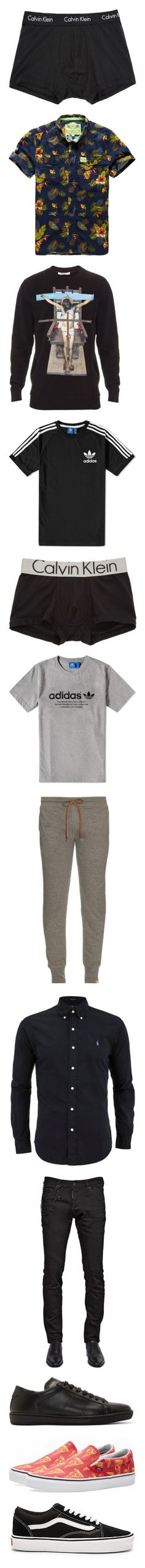 """""""MEN"""" by brunasthefanny ❤ liked on Polyvore featuring men's fashion, men's clothing, men's underwear, men, men's shirts, men's casual shirts, navy, men's hoodies, men's sweatshirts and black"""
