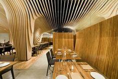 bambusmöbel deko bambusholz restaurant einrichtung