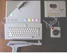 Atari XE Gaming System (XEGS) #retro #8bit #computer #ATARI