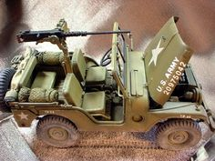 Military Models and 1/35 Scale Models by Accurate Armour. A super neat build and paint of the SKYBOW M38A1 by Jim Lewis of Gun Truck Studios.(USA)