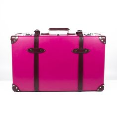 Reproduction luggage in fun colors made in the UK (via Fab)