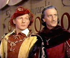 "Danny Kaye and Basil Rathbone in The Court Jester (1956) - ""Get it?"" ""Got it."" ""Good!"" I love this movie soooooo much!!!"