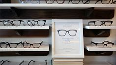 Cool eyeglasses, not too pricey, Warby Parker. Apartment no. 9, Chicago.