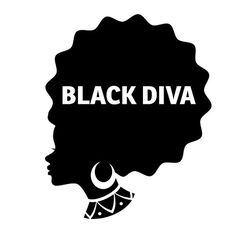 BLACK DIVA Car Decal Laptop Wall Sticker -- More info could be found at the image url. Black Girl Art, Black Women Art, Black Girls Rock, Black Girl Magic, African American Art, African Art, Natural Hair Art, Natural Hair Styles, Black Woman Silhouette