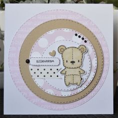 Cardmaking, Greeting Cards, Barn, Teddy Bear, Scrapbook, Toys, Children, How To Make, Animals