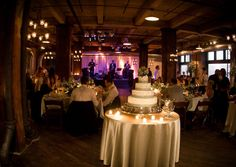Hobb Building in the West Bottoms of KC has this beautiful event space - perfect for wedding receptions!