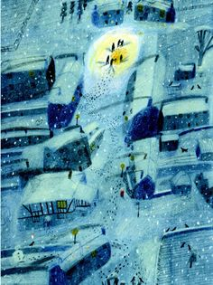 tygertale advent calendar 2016 - The Dark is Rising by Susan Cooper, illustrated by Laura Carlin