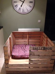 Puppy Whelping box #puppies #whippets #whelping                                                                                                                                                                                 More