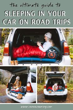 car camping Find out everything you need to know about sleeping in your car on road trips! I am sharing about how to find free camping spots, safety and privacy advise, and all the gear you need. This is your go-to guide for car camping on a budget! Suv Camping, Camping Spots, Camping And Hiking, Camping Life, Camping Ideas, Camping Hacks, Car Camping Essentials, Backpacking, Cool Camping Gear