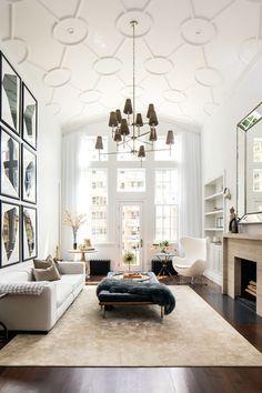 Contemporary Living Room by JENDRETZKI LLC | Arne Jacobsen's Egg Chair | #Living - Pinned onto ★ #Webinfusion>Home ★