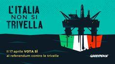 Grazie al nostro Governo di #Renzi e C. nessuno ne parla, ma il 17 c'è il referendum ricordiamoci e divulgate!!! ne va della nostra salute  e dell'ambiente