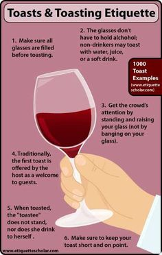 """Toasting Etiquette Tips - Toasting etiquette rules everyone should know before toasting."""" Toasting Etiquette Tips.Six Toasting Etiquette Tips - Toasting etiquette rules everyone should know before toasting."""" Toasting Etiquette Tips. Dinning Etiquette, Table Setting Etiquette, Table Settings, Etiquette And Manners, Table Manners, Wine Guide, Little Bit, Vintage Modern, Things To Know"""