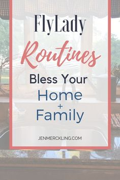 FlyLady Routines -- Bless Your Home and Family! - Stop feeling overwhelmed by your housework and gain peace of mind with the Flylady! I've been fol - Fly Lady Cleaning, Zone Cleaning, Deep Cleaning Tips, Cleaning Checklist, House Cleaning Tips, Diy Cleaning Products, Cleaning Solutions, Spring Cleaning, Cleaning Hacks