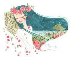 Midsummer Dream Illustration by Oana Befort.