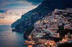 Positano, one of the jewels scattered along Amalfi coast.