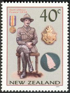 Staff Officer France 1918