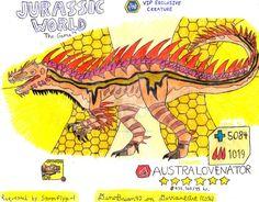 Jurassic World: The Game -Australovenator(Request) by DinoBrian47 on DeviantArt