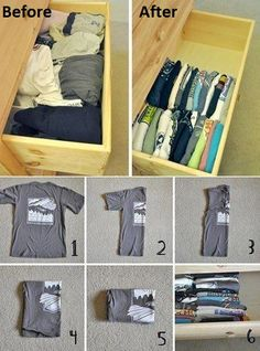 10 Great tips to folding clothes
