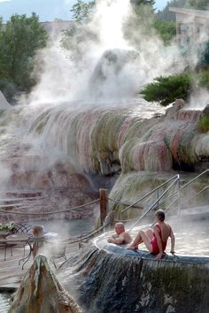 "Pagosa Springs is home to the worlds deepest mineral hot springs. It's name, 'Pagosah means ""Healing Waters""."