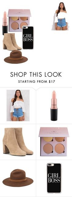 """""""Untitled #15"""" by queenalejandrast on Polyvore featuring Somedays Lovin, MAC Cosmetics, Yves Saint Laurent, rag & bone and Casetify"""