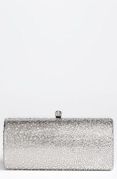 OMG! Perfect clutch!  Natasha Couture Rhinestone Dégradé Clutch available at #Nordstrom