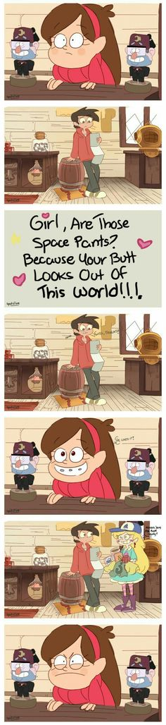 MABEL YOU ARE BOT GOING TO RUIN MY SHIP
