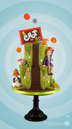 1971 Charlie and the Chocolate Factory Cake