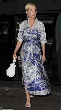 7f9f66677b3 Katy Perry shows off her style credentials for night out in London