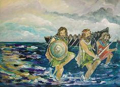 The legend of Irish Milesians is one of the strangest stories connected with the origins of these islanders. Where did they come from? Is it possible that the early ancestors of modern Irish people ha