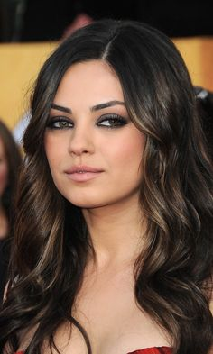 Her hair!<3 Had mine colored like this yesterday! Looks absolutely gorgeous! Perfect trendy fall look;)