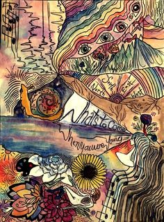 hippie painting ideas 138837600982012796 - what's to come when you were young Source by arrowslinging Bohemian Art, Hippie Art, Hippie Vibes, Friedensreich Hundertwasser, Frida Art, Psy Art, Psychedelic Art, Collage Art, Art Inspo