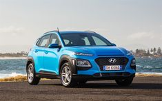 Download wallpapers Hyundai Kona, 4k, crossovers, 2018 cars, new Kona, korean cars, Hyundai