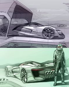 SRT Tomahawk Vision Gran Turismo Concept - Design Sketch, I hope it becomes real because man that's a sexy car! Car Design Sketch, Car Sketch, Bike Sketch, Supercars, Automobile, Industrial Design Sketch, Futuristic Cars, Car Drawings, Transportation Design