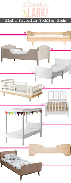 A Lovely Lark Favorite Toddler Beds... Still trying to decided if we should get 6# for our son from Ikea!!