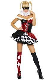harley quinn costume - girlfriend of the Joker