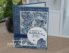 Stampin' Pals: ctc #292 CASE A Sketch Birthday Sentiments, Birthday Cards, Laser Cut Paper, Gold Flowers, I Am Happy, Stampin Up Cards, Paper Cutting, Card Stock, Embellishments