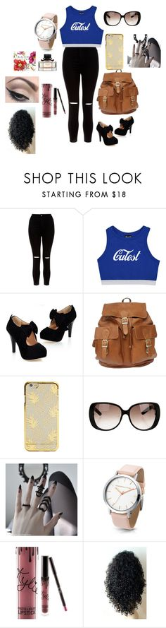 """""""❤️😀"""" by whysorude on Polyvore featuring mode, New Look, Gucci et Mehron"""
