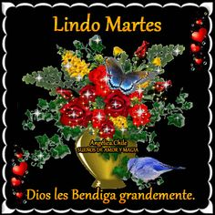 SUEÑOS DE AMOR Y MAGIA: Lindo Martes. Morning Board, Good Morning, Pablo Neruda, Christmas Tree, Christmas Ornaments, Happy Tuesday, Morning Quotes, Beautiful Roses, Inspirational Quotes