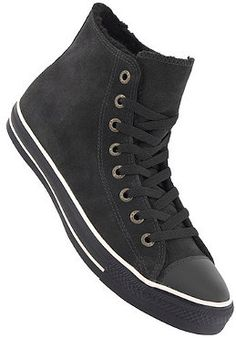 All Black High Top Converse Shoes I Want Pinterest