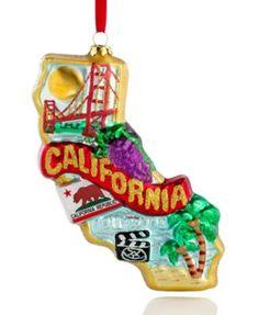 State of California Christmas Ornament - Ornament Reviews