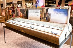 Tom`s Sunglasses stand in Selfridges by Design 4 Retail, London #display