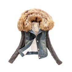http://www.hdzstore.com/products/autumn-short-denim-jacket-women-winter-large-fur-collar-lamb-cotton-denim-jeans-free-shipping?utm_campaign=social_autopilot&utm_source=pin&utm_medium=pin  #ebay #shopping #shop #buy #shops #usa #hdzstore #amazon