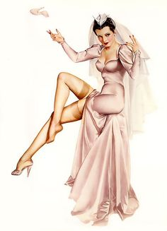 Alberto Vargas (1896 - 1982)    The most famous and prolific pin-up artist of all time.