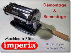 Démontage et remontage d'une machine à pâte Imperia Clay Tutorials, Garden Trowel, Office Supplies, Tools, Pasta, Clays, Tips And Tricks, Cleaning, Bricolage
